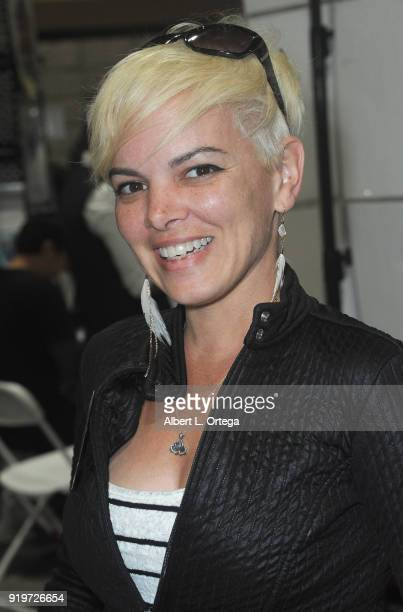 Heather Harris attends day 1 of the 8th Annual Long Beach Comic Expo held at Long Beach Convention Center on February 17 2018 in Long Beach California