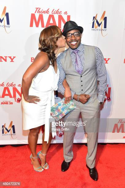 "Heather Hastings and Will Packer attends the ""Think Like A Man Too"" Atlanta Premiere at Regal Cinemas Atlantic Station Stadium 16 on June 11, 2014 in..."