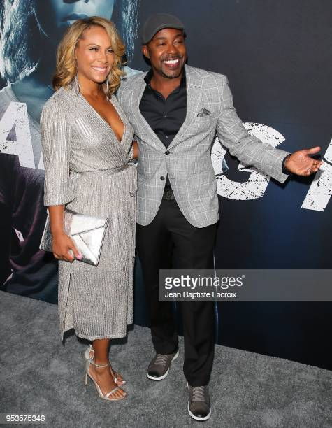 Heather Hayslett and producer Will Packer attend Universal Pictures' Special Screening Of Breaking In on May 01 2018 in Los Angeles California