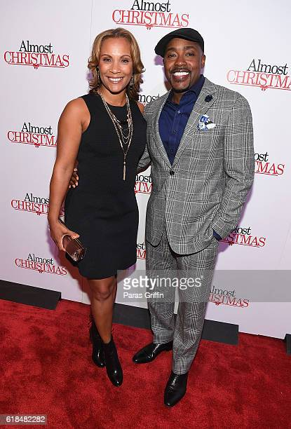 Heather Hayslett and Will Packer attend Almost Christmas Atlanta screening at Regal Cinemas Atlantic Station Stadium 16 on October 26 2016 in Atlanta...