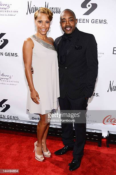 Heather Hayslett and Will Packer attend Screen Gems Presents The Steve Marjorie Harvey Foundation Gala at Cipriani Wall Street on May 14 2012 in New...