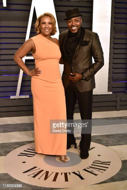 Heather Hayslett and Will Packer attend the 2019 Vanity Fair Oscar Party at Wallis Annenberg Center for the Performing Arts on February 24 2019 in...