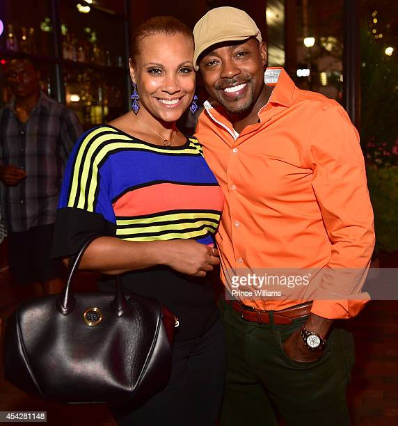 Heather Hayslett and Will Packer attend the Atlanta screening of No Good Deed at Strip Atlantic Station on August 27 2014 in Atlanta Georgia