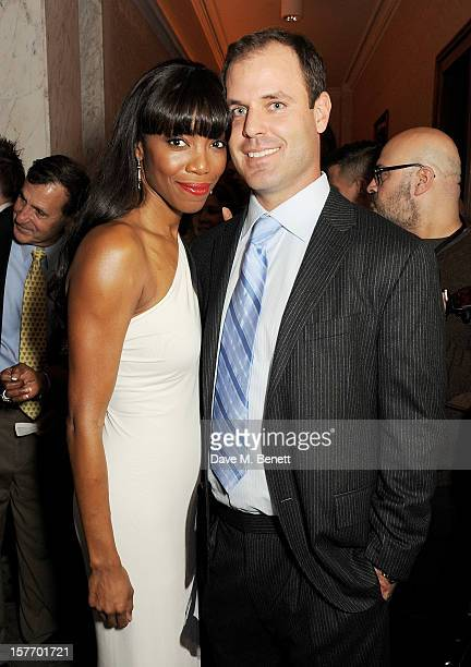 Heather Headley and Brian Musso attend an after party celebrating the press night performance of 'The Bodyguard' at on December 5 2012 in London...