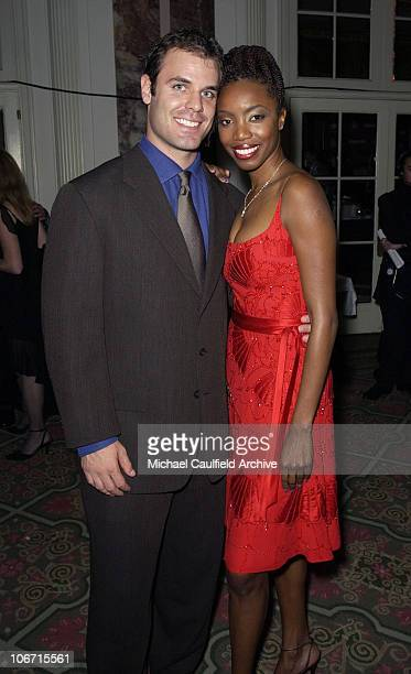 Heather Headley and Brian Musso during Katie Couric and the Entertainment Industry Foundation Unite Hollywood Broadway Stars to Launch The Jay...