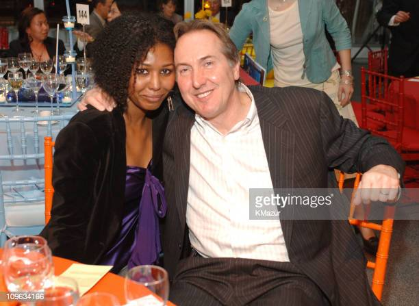 Heather Headley and Brian Musso during Stars in the Sky Benefit for the Association of Hole in the Wall Camps After Party at Avery Fisher Hall...