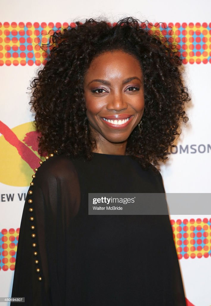 Heather Headley attends The New 42nd Street 2013 New Victory Arts Awards Gala dinner at The New Victory Theater on November 18, 2013 in New York City.
