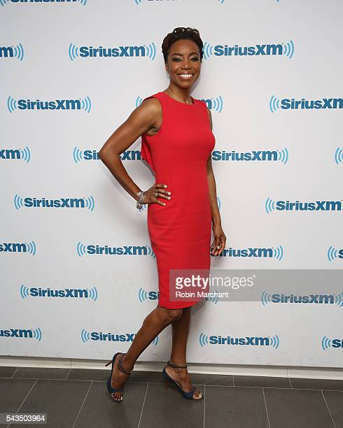 Heather Headley visits at SiriusXM Studio on June 28 2016 in New York City