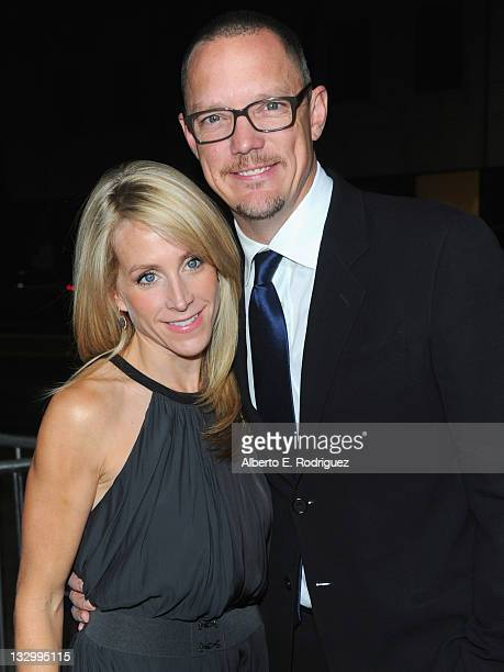 """Heather Helm and actor Matthew Lillard arrives to the premiere of Fox Searchlight's """"The Descendants"""" at AMPAS Samuel Goldwyn Theater on November 15,..."""