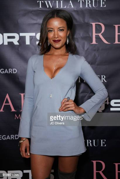 Heather Hemmens attends Regard Magazine 2018 NBA AllStar PreParty hosted by Derek Fisher at Soho House on February 15 2018 in West Hollywood...