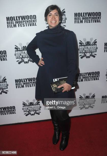 Heather Hillstrom attends the 17th Annual Hollywood Reel Independent Film Festival Award Ceremony Red Carpet Event held at Regal Cinemas LA LIVE...