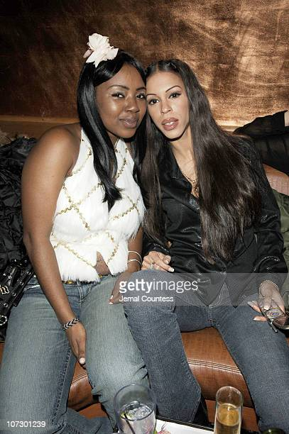 Heather Hunter and guest during Wendy Williams presents Dons and Diva's Black Party Hosted by Mary J Blige Arrivals at Crobar in New York City New...