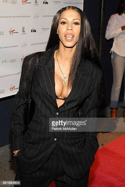 Heather Hunter attends Wendy Williams CD Launch at Quo cohosted by Courvoisier Ambassadrice Nina Shay New York City at Quo on June 22 2005 in New...