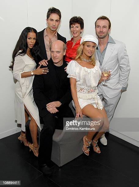 Heather Hunter, Michael Lucas, Timothy Greenfield-Sanders, Sharon Mitchell, Savanna Samson and Chad Hunt