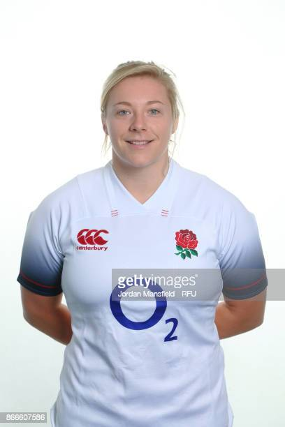 Heather Kerr of England poses for a portrait at Bisham Abbey on October 15 2017 in Marlow England