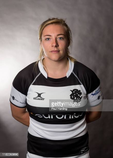 Heather Kerr poses for a portrait during the Barbarians Women Squad photo call on May 28 2019 in Richmond England The Barbarians play England at...
