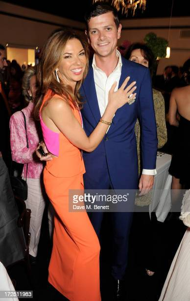 Heather Kerzner and Alexander SpencerChurchill attend The Masterpiece Midsummer Party in aid of Marie Curie Cancer Care hosted by Heather Kerzner at...