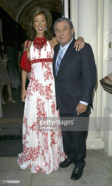 Heather Kerzner and Sol Kerzner during One Only Reethi Rah Exclusive Resort PreLaunch Party at Sketch in London Great Britain
