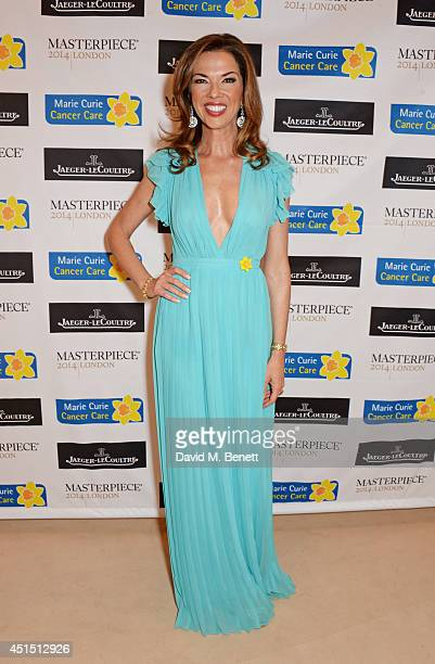 Heather Kerzner arrives at The Masterpiece Marie Curie Party supported by JaegerLeCoultre and hosted by Heather Kerzner at The Royal Hospital Chelsea...