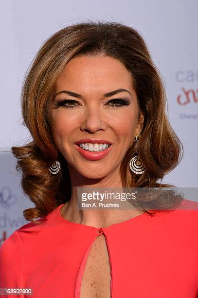 Heather Kerzner attends The Butterfly Ball A Sensory Experience in aid of the Caudwell Children's charity at Battersea Evolution on May 16 2013 in...