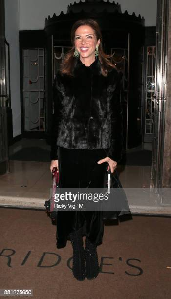 Heather Kerzner attends the Lady Garden Gala in aid of Silent No More Gynaecological Cancer Fund and Cancer Research UK at Claridge's Hotel on...