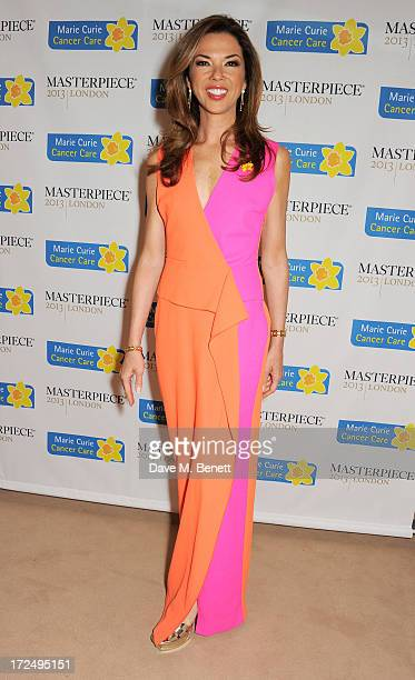 Heather Kerzner attends The Masterpiece Midsummer Party in aid of Marie Curie Cancer Care hosted by Heather Kerzner at The Royal Hospital Chelsea on...