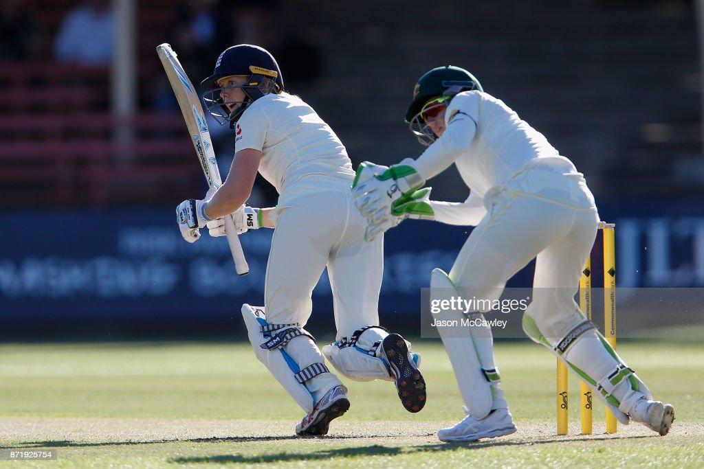 Australia v England - Women's Test Match: Day 1