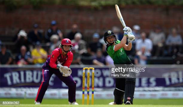 Heather Knight of Western Storm bats during the Kia Super League 2017 match between Western Storm and Loughborough Lightning at The Cooper Associates...