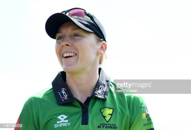 Heather Knight of Western Storm looks on during the Kia Super League match between Western Storm and Loughborough Lightning at Bristol County Ground...