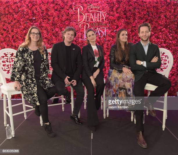 Heather LaingObstbaum Christopher Kane Livia Firth Laure Heriard Durbreuil and Derek Blasbergwho were part of a panel discussion on storytelling...