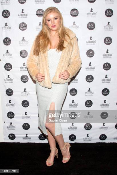 Heather LaRose attends the 23rd Annual LA Art Show Opening Night Premiere Gala Benefiting St Jude Children's Research Hospital at Los Angeles...