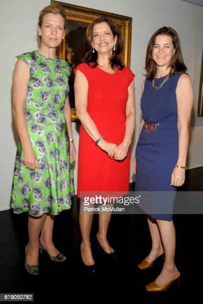 Heather Leeds, Debra Black and Wendy Selig attend DAVID YURMAN & CHRISTIE'S host a benefit for the MELANOMA FOUNDATION at Christie's at Rockefeller...