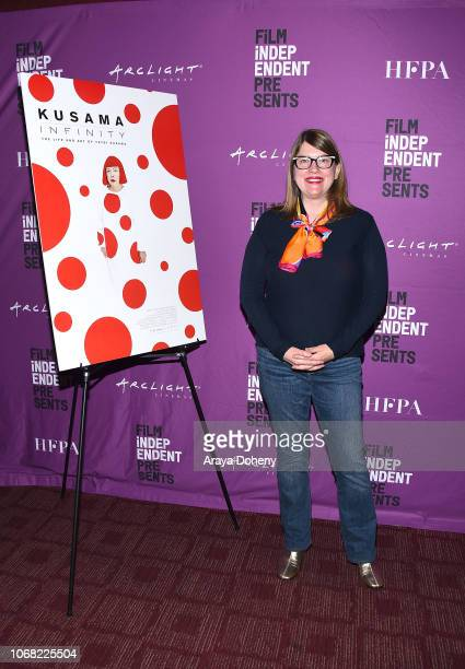 Heather Lenz attends the Film Independent Special Screening of 'Kusama Infinity' at ArcLight Sherman Oaks on December 3 2018 in Sherman Oaks...