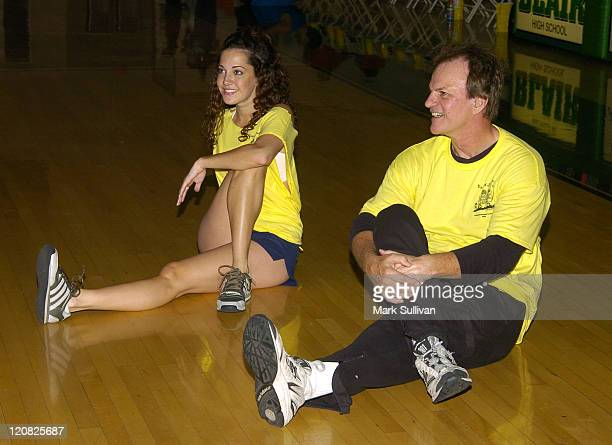 Heather Lindell and Josh Taylor during 14th Annual Days of Our Lives Celebrity Basketball Tournament Benefiting Pasadena Ronald McDonald House at...