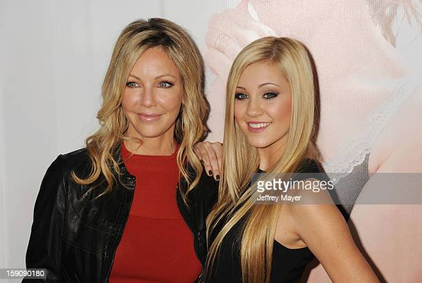 Heather Locklear and Ava Sambora arrive at the 'This Is 40' Los Angeles Premiere at Grauman's Chinese Theatre on December 12 2012 in Hollywood...