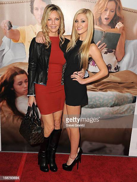 Heather Locklear and Ava Sambora arrives at the This Is 40 Los Angeles Premiere at Grauman's Chinese Theatre on December 12 2012 in Hollywood...