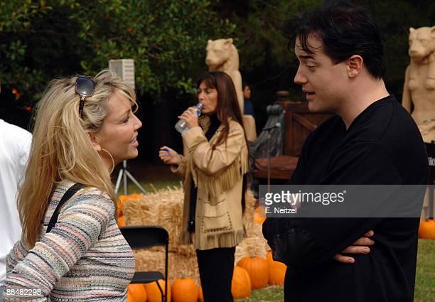 Heather Locklear and Brendan Fraser