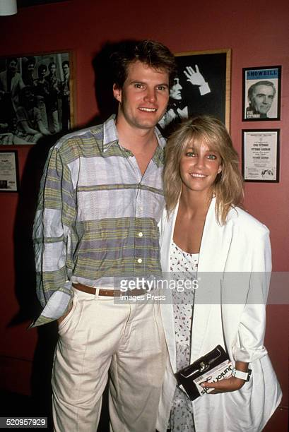 Heather Locklear and Jack Coleman circa 1987 in New York City
