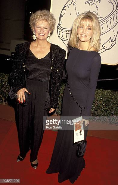 Heather Locklear and Mother Diane Locklear during 51st Annual Golden Globe Awards at Beverly Hilton Hotel in Beverly Hills California United States
