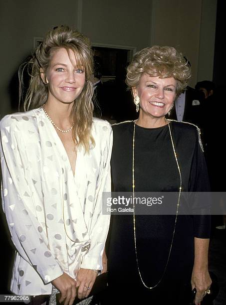 Heather Locklear and Mother Diane Locklear