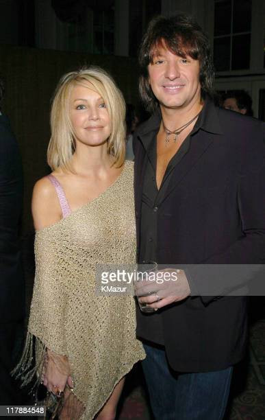Heather Locklear and Richie Sambora during A Funny Thing Happened on the Way to Cure Parkinson's A Benefit Evening for the Michael J Fox Foundation...