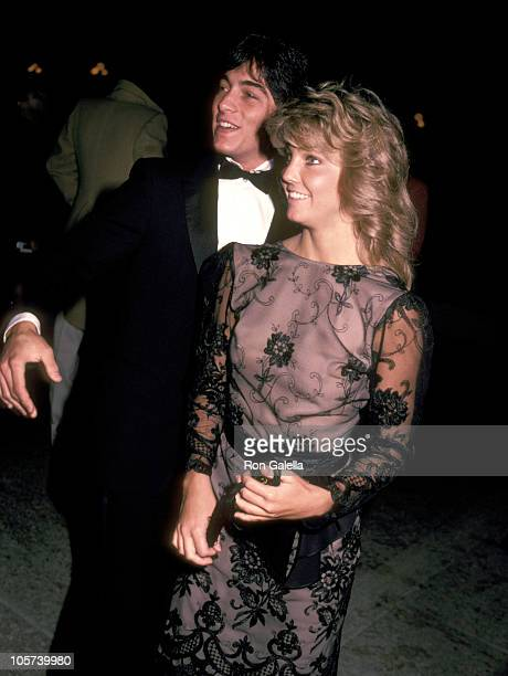Heather Locklear and Scott Baio during 'Dreamgirls' Broadway Opening Night at Shubert Theater in Century City California United States