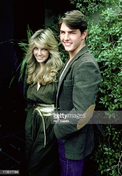 Heather Locklear and Tom Cruise during 'Entertainment Tonight' Celebrates Its 100th Taping at Su Ling Restaurant in Los Angeles California United...