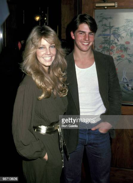 Heather Locklear and Tom Cruise