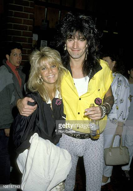 Heather Locklear and Tommy Lee during 4th Annual Rock Bowl Tournament For The TJ Martel Foundation at Calabasas Country Club in Calabasas California...