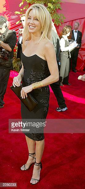 Heather Locklear at the 54TH ANNUAL PRIMETIME EMMY AWARDS Sunday September 22 at the Shrine Auditorium Los Angeles CA 2002Getty Images Photo byKevin...