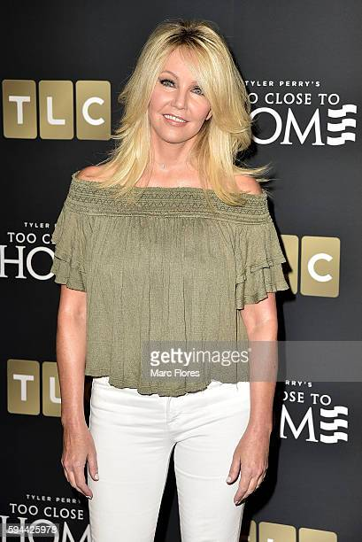 Heather Locklear attends the Screening Of TLC Networks' Too Close To Home at The Paley Center for Media on August 16 2016 in Beverly Hills California