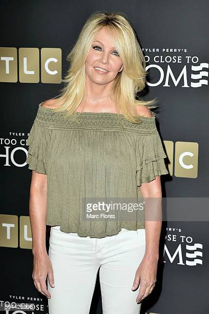 Heather Locklear attends the Screening Of TLC Networks' 'Too Close To Home' at The Paley Center for Media on August 16 2016 in Beverly Hills...
