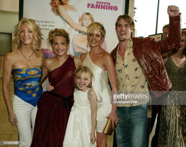 Heather Locklear, Brittany Murphy, Dakota Fanning, Marley Shelton and Jesse Spencer