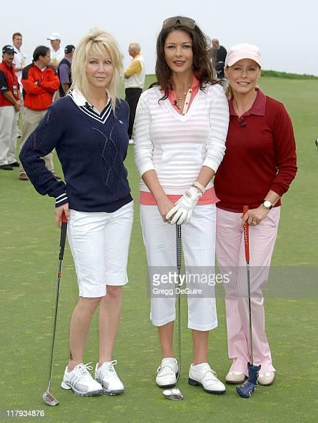 Heather Locklear Catherine ZetaJones and Cheryl Ladd